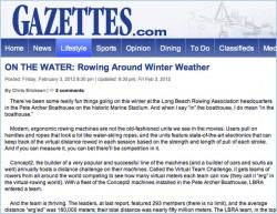 Rowing Around Winter Weather