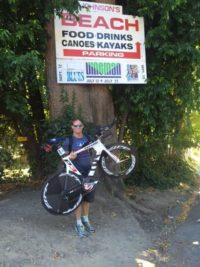 Vineman Blog beach hold bike