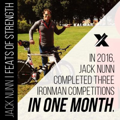 Feats of Strength: Three in One Month