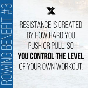 Rowing Benefit: Control