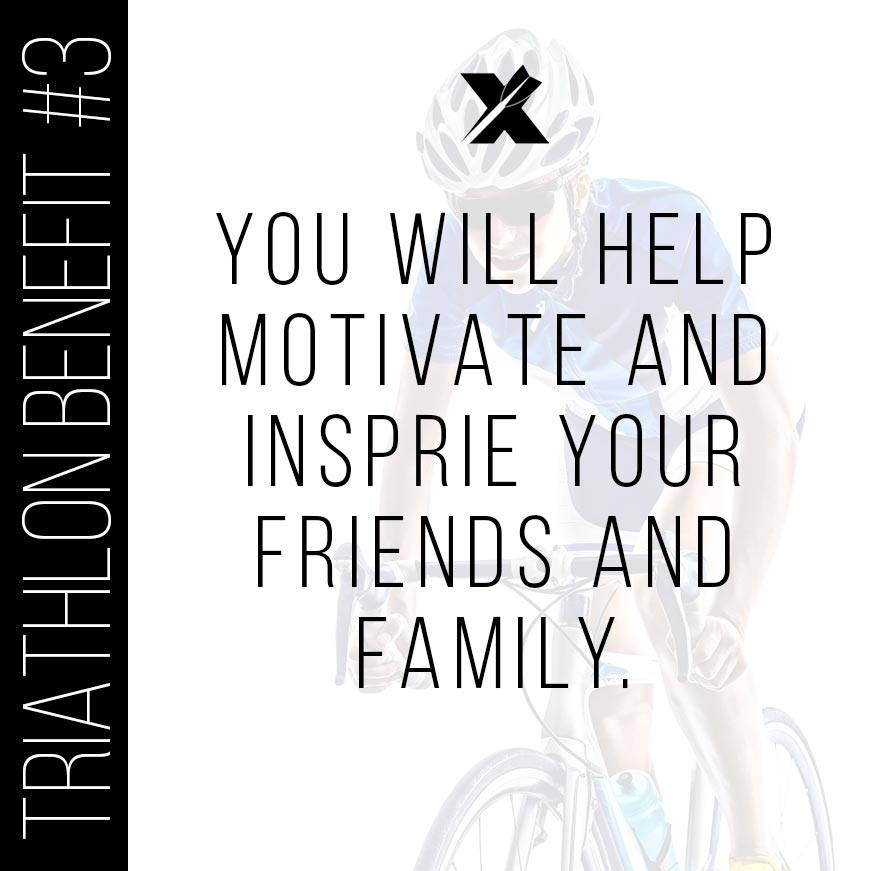 Triathlon Benefits: Inspiration