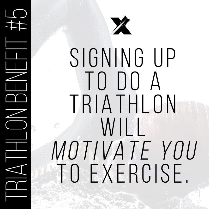 Triathlon Benefits: Motivate Yourself