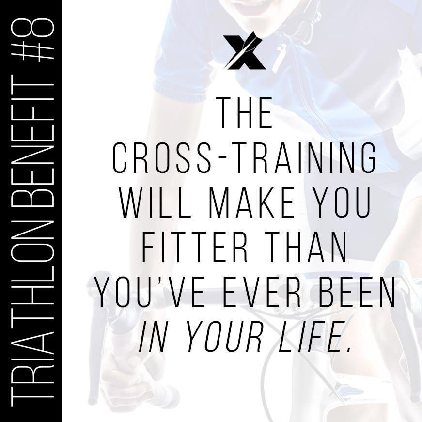 Triathlon Benefit: Cross-Training